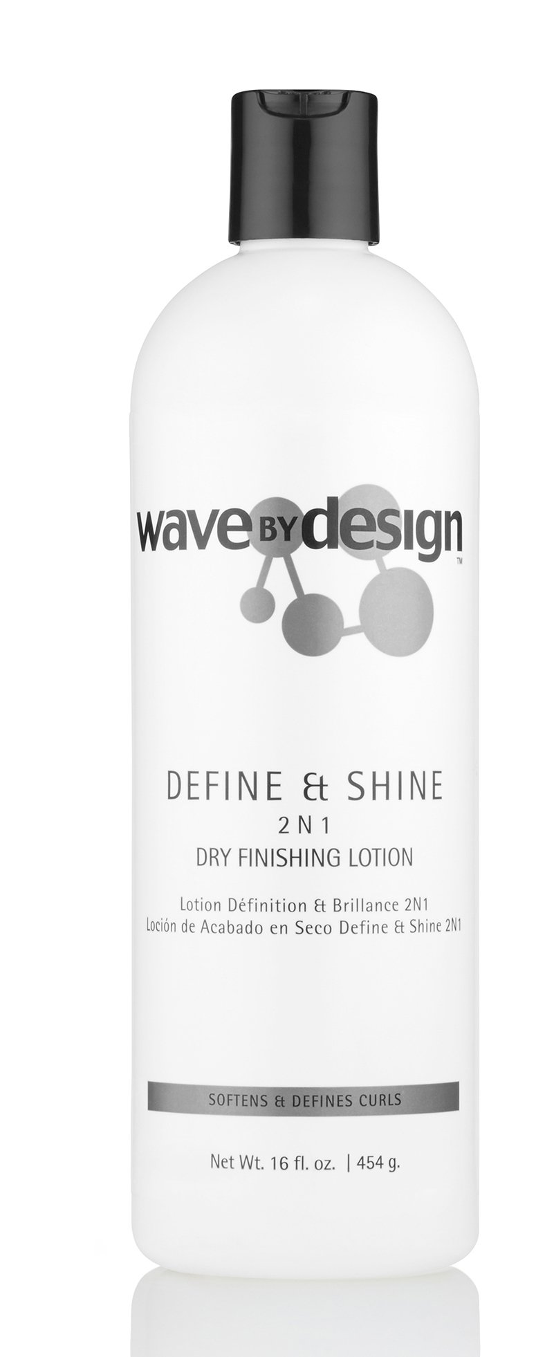 Design Essentials 2-N-1 Dry Finishing Lotion to Restore, Define & Revitalize Waves, Curls, and Texturized Styles -Wave By Design Collection, 16oz. by Design Essentials