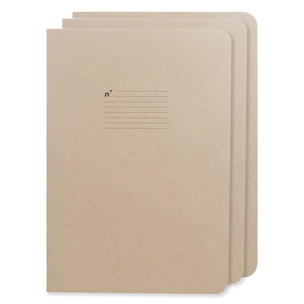 Journal Notebook for Writing/Journaling   3 Lined College Ruled Notebooks   Premium Thick Large 7x10 Paper   Made in USA