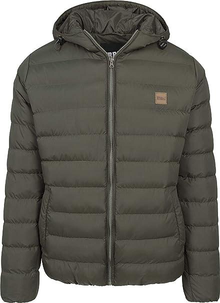 Urban Classics Basic Bubble Jacket Cappotto Uomo
