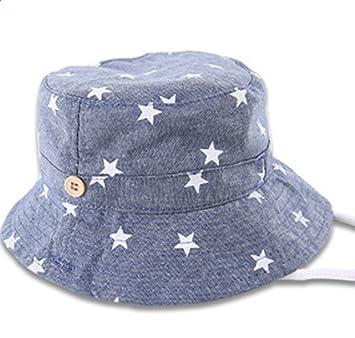 Qingsun Chapeau de Soleil Plage Anti-UV Bébé Fille Garçon Coton Chapeau Anti -UV 766d9c21fcf