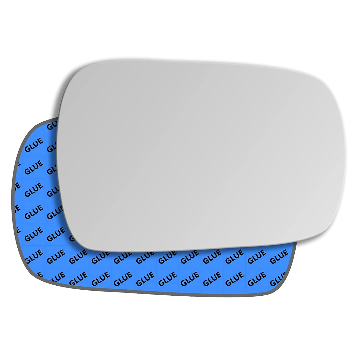 Hightecpl 76RS Right Driver Side Convex Door Wing Mirror Glass