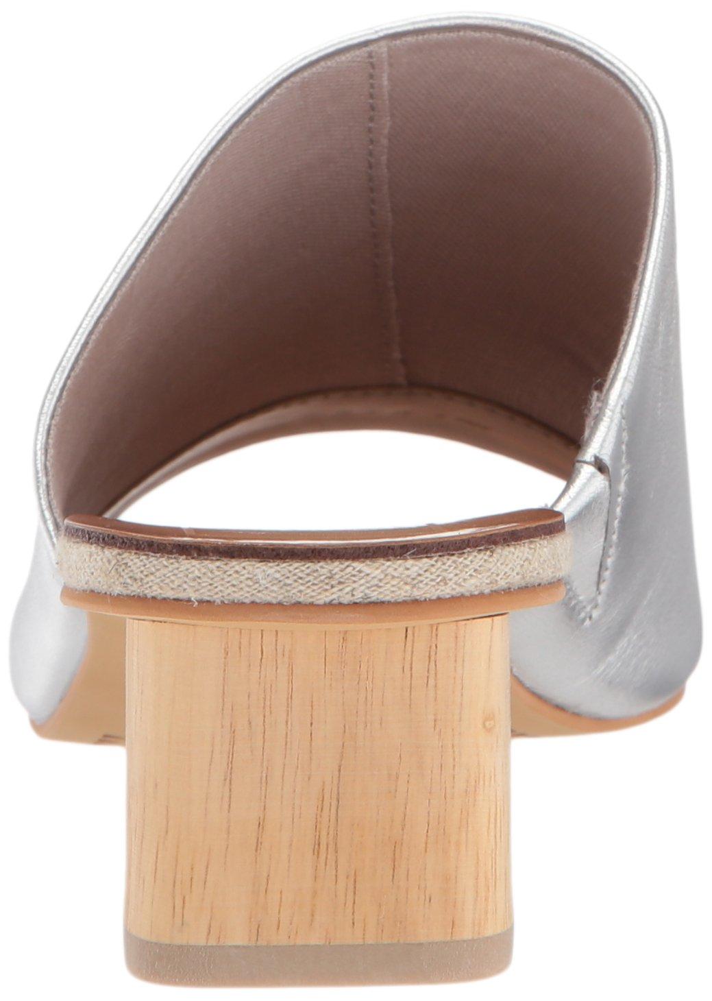 Dolce Vita Women's Kaira Slide Sandal B077NGYTL5 8 B(M) US|Silver Leather