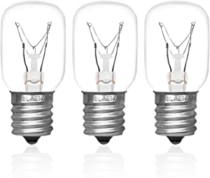 8206232A Microwave Light Bulb (40W 125V) Replacement Part by Primeswift for AP4512653 1890433 8206232,3 Pack