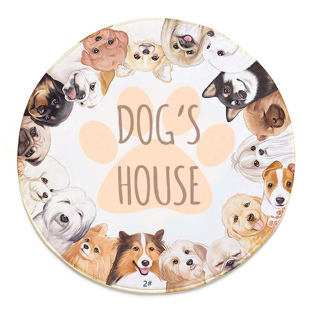 1002M Dog Sleeping Mat, NonSlip Home Bedroom Mats Bedside Carpet NonSlip Pet Mat Kennel Mat Pet Nest (color   1001S)