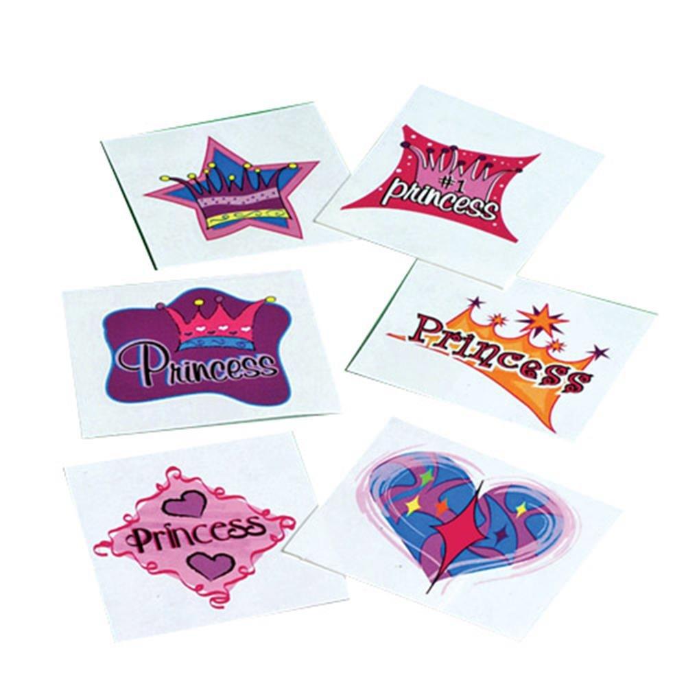 U.S. Toy 302 Princess Tattoos
