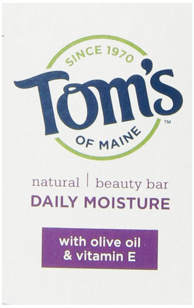 Tom's of Maine Moisturizing Bar Daily, 4-Ounce Bar, Pack of 6 by Tom's of Maine (Image #9)