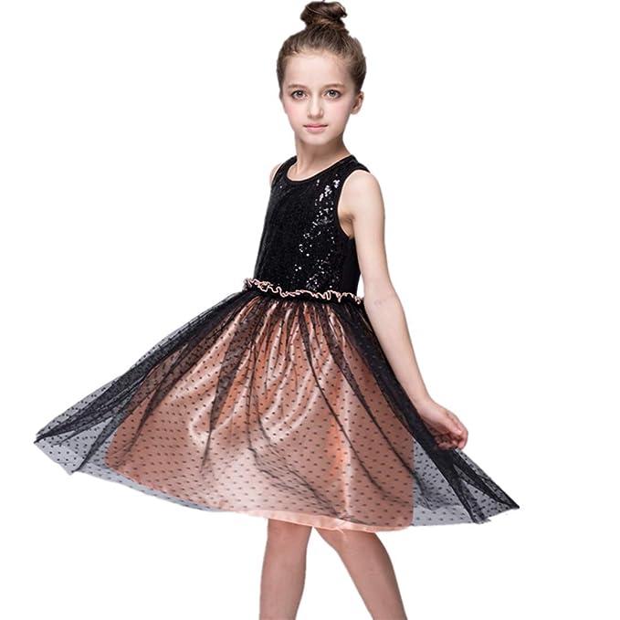 Amazon.com: Vestidos de verano para niñas, para fiestas ...