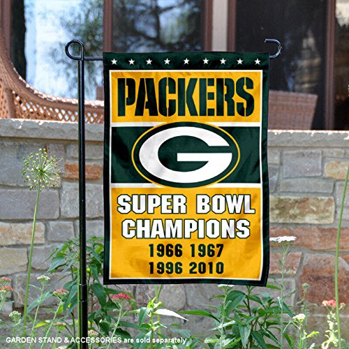 WinCraft Green Bay Packers 4 Time Super Bowl Champions Doubl