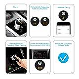 Car Charger,OBSTARO Bluetooth FM Transmitter