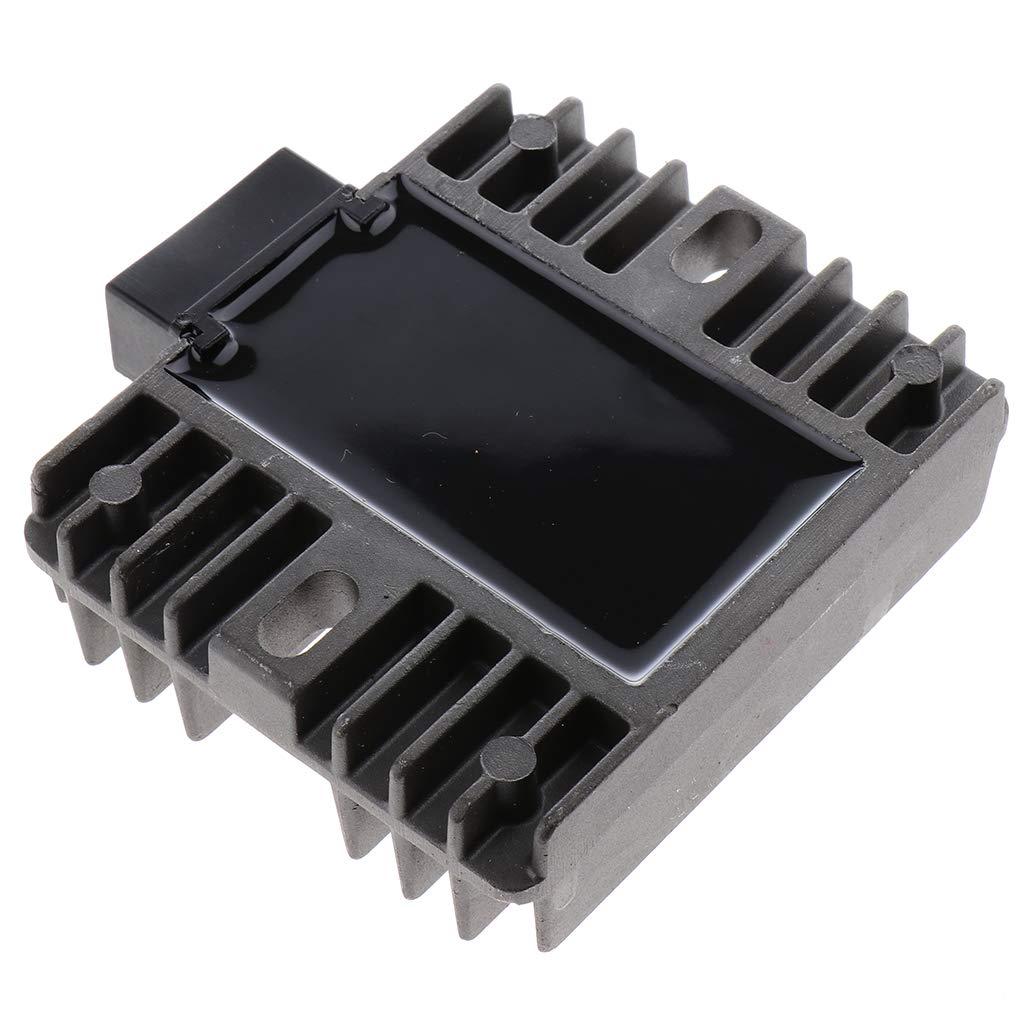Shiwaki 1x Rectificador Regulador voltaje Motocicleta trabaja con YZF R1 99-01 R6 97-05 TMAX500