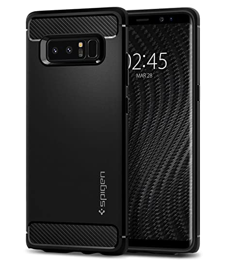 wholesale dealer bf992 69024 Spigen Rugged Armor Designed for Samsung Galaxy Note 8 Case (2017) - Matte  Black