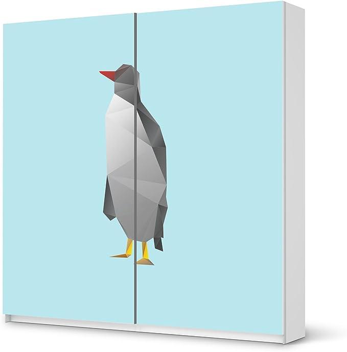 pegatinas Muebles IKEA Pax Armario 201 cm altura – Puerta corredera/Diseño Pegatinas Elevator/autoadhesivo Protección: Amazon.es: Hogar
