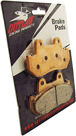 Outlaw Racing OR69 Front OR Rear Sintered Brake Pads Honda Vf700C//F//S Vf750C//F//S