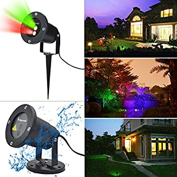 Erligpowht Outdoor Laser Landscape Projector Light