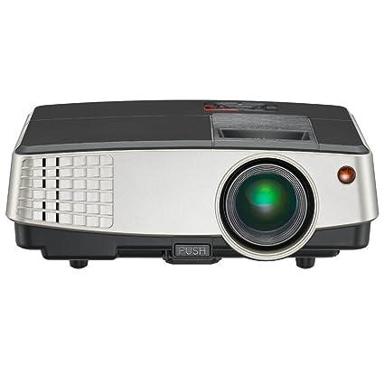 Mini proyector 2600 lúmenes Proyectores de Video LED portátiles Full HD 1080P Soporte, Cine en casa Proyector de Cine al Aire Libre con HDMI USB VGA ...