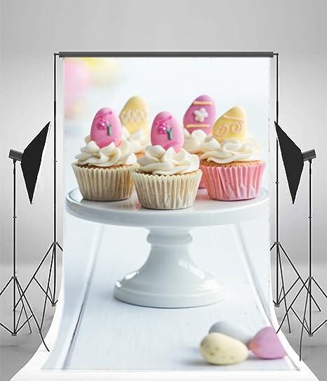 laeacco fondo 5 x 7ft vinilo photography Fondo Cupcakes ...