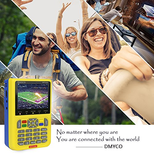 Satellite Finder V8 Finder, Free Sat Digital FTA Signal