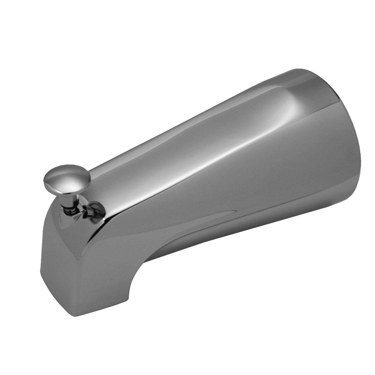 Brasscraft Swd0424 Mixet 64 Bulk 51/8'' Iron Pipe Diverter Tub Spout, Chrome