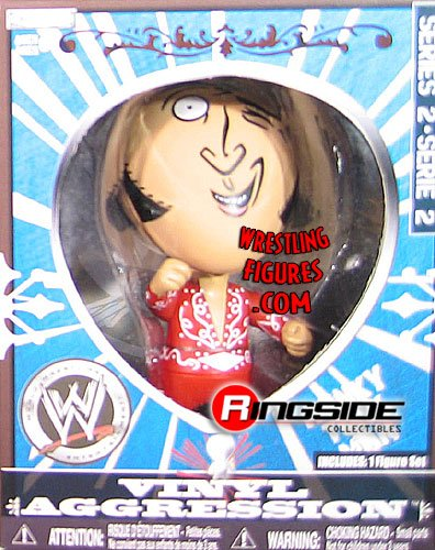 HONKY TONK MAN - VINYL AGGRESSION 2 WWE WRESTLING ACTION FIGURE (3