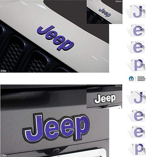 JEEP RENEGADE LOGO DECAL STICKER CAR TRUCK  12 COLORS