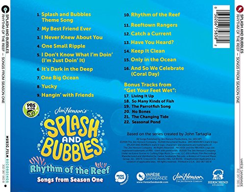 Splash and Bubbles: Rhythm of the Reef (Songs from Season One)