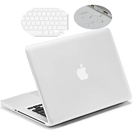 reputable site b72af cc5c3 LENTION Hard Case for MacBook Pro (13-inch, Late 2008 to Mid 2012) - Model  A1278, with Keyboard Cover and Port Plugs, Matte Finish Case with Rubber ...