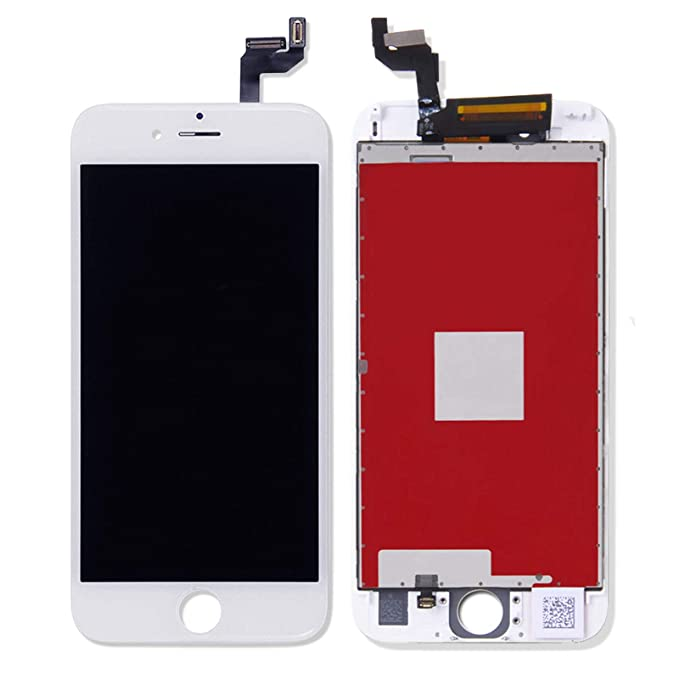 new arrival 2d209 ae8d5 White LCD for iPhone 6S Plus Screen Replacement Kit Digitizer Touch Screen  Display Assembly with 3D Touch, Repair Tools for 6S Plus 5.5 Inch