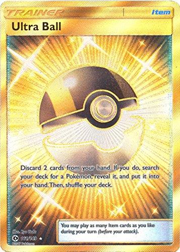 Ultra Ball - 161/149 - Secret Rare - Pokemon Sun & Moon (Secret Rare Ultra Ball Sun And Moon)