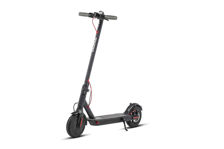 Moma Bikes Patinete Eléctrico Plegable E-500 Ruedas Macizas 8,5
