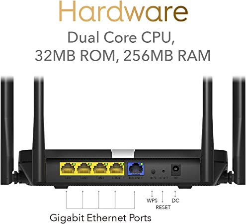 Cudy Wifi 6 Router Ax1800 Smart Wifi Router 802 11ax Computers Accessories