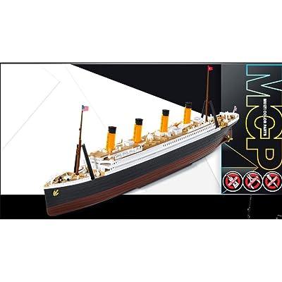 1:1000 Academy R.m.s. Titanic Mcp (multi Color Parts) Plastic Model Kit: Toys & Games