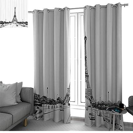 Amazon.com: Apartment Decor Collection Blackout Curtains ...
