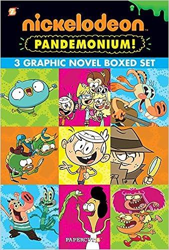 Amazon com: Nickelodeon Pandemonium Boxed Set: Vol  #1-3