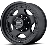 """American Racing AR23 Satin Black with Clear Coat Wheel with Painted Finish (16.00x8.00""""/8x170.00mm)"""