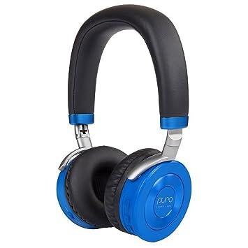 Puro Sound Labs JuniorJams Auriculares en la Oreja Auriculares Plegables inalámbricos para niños con Bluetooth, limitación de Volumen, Peso Ligero y ...