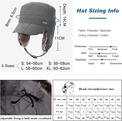 5 Colours 2 Sizes 56-64CM Fancet 100/% Cotton Classic Army Caps Military Hats Baseball Cap Mens Sun Hat Adjustable