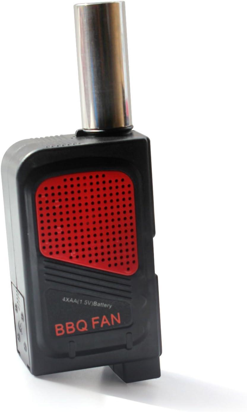 Aofan - Ventilador portátil para Barbacoa