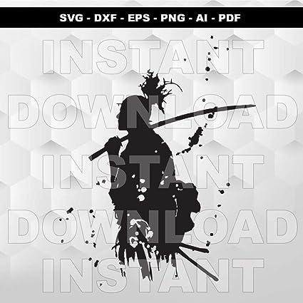 Amazon.com: lagifi Samurai SVG, Warrior SVG, Ninja SVG ...