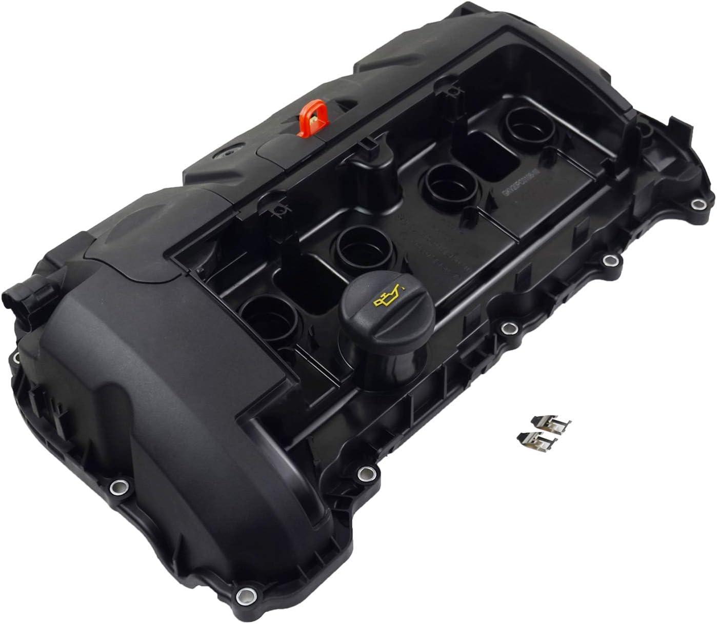 CDYSS Engine Cylinder Valve Cover w//Gasket Part#11127646554 11127553799 for MINI N12 N16 R55 R56 R57 R58 R59 R60 R61 Rocker Valve Cover