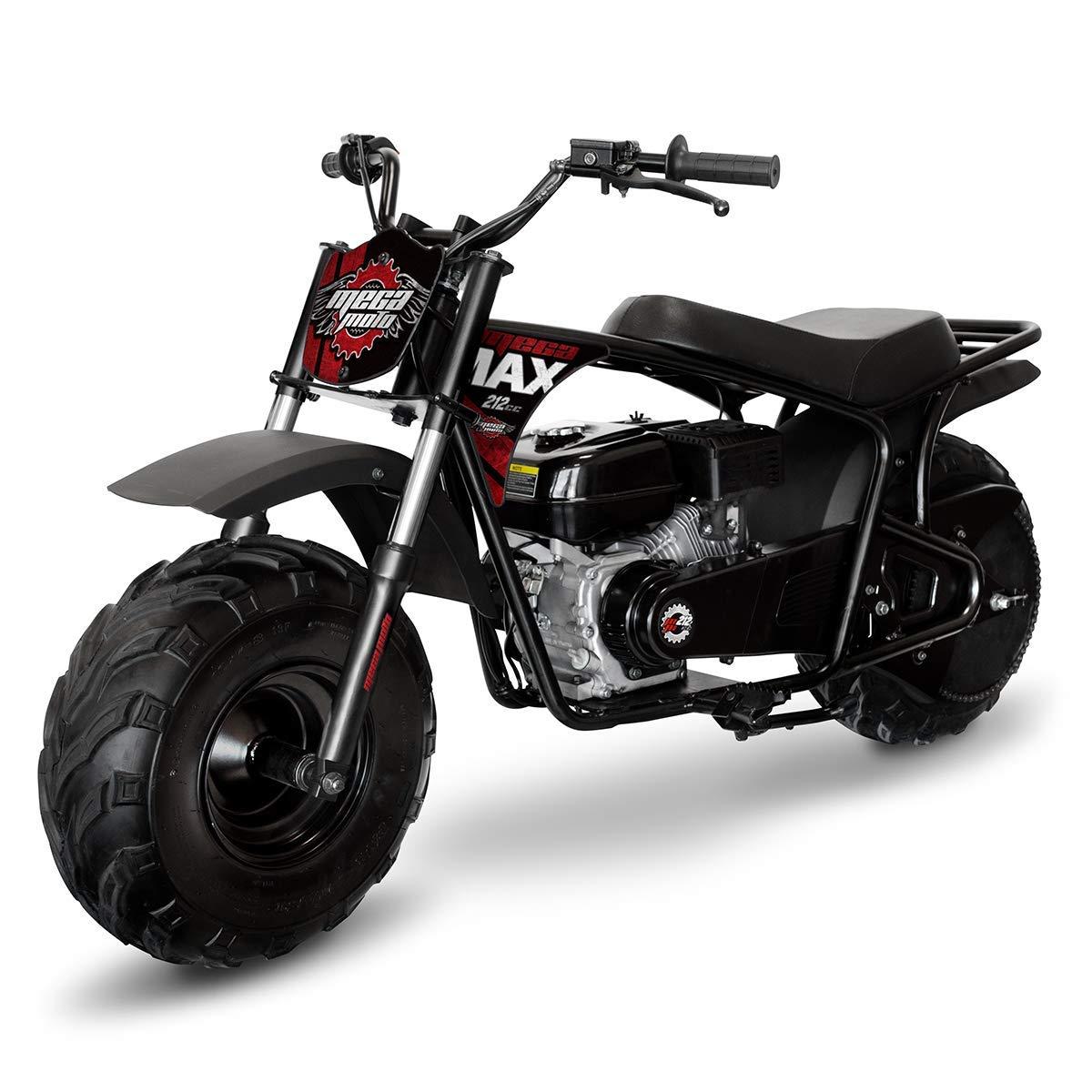 Mega Moto MM-B212-MXS (Black/Red) 212CC 7 5HP with Suspension Mini Bike