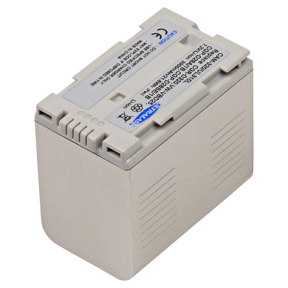 ビデオカメラcam-320リチウム、リチウムイオン( ICR / CGR /リル)バッテリー   B0798869CS