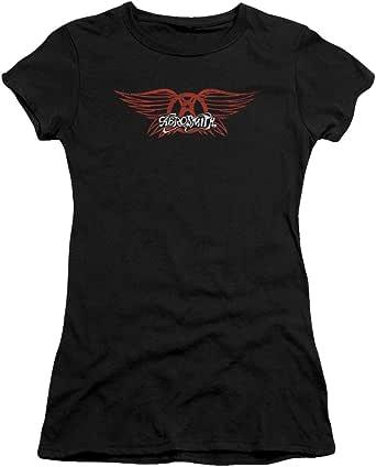 Aerosmith Winged Logo Juniors T-Shirt