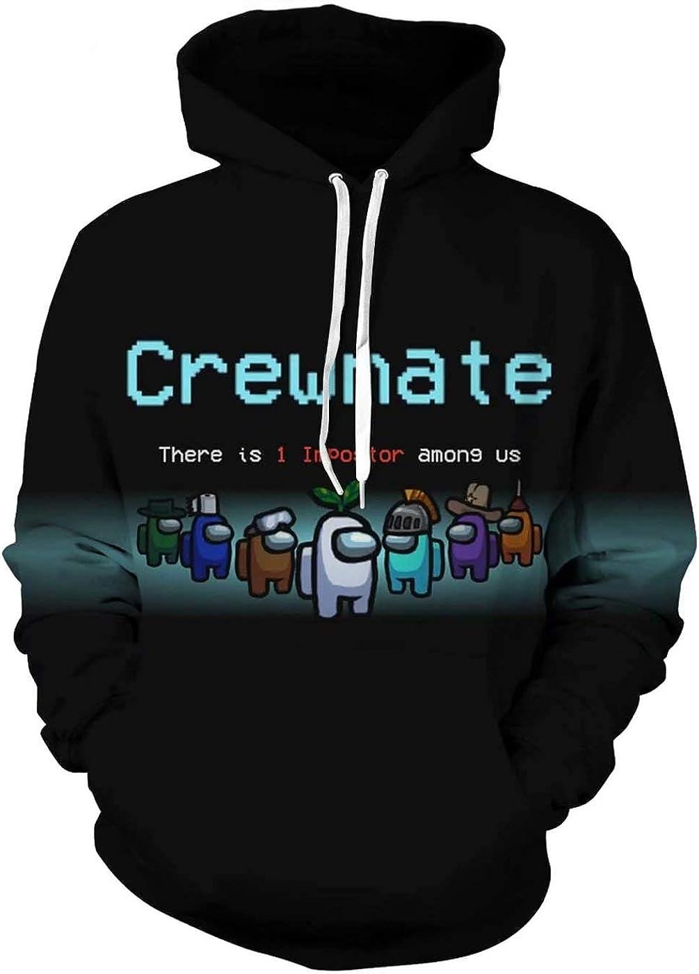Oarkcave Boys Girls 3D Printed Casual Hoodie Pullover Sweatshirt