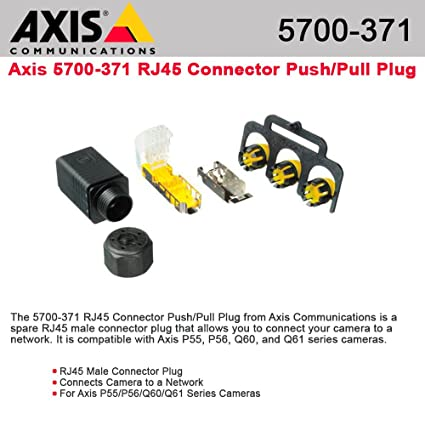 amazon axis munications 5700 371 rj45 connector push pull Discrete Outdoor Camera axis munications 5700 371 rj45 connector push pull plug idc 8 ip67 f