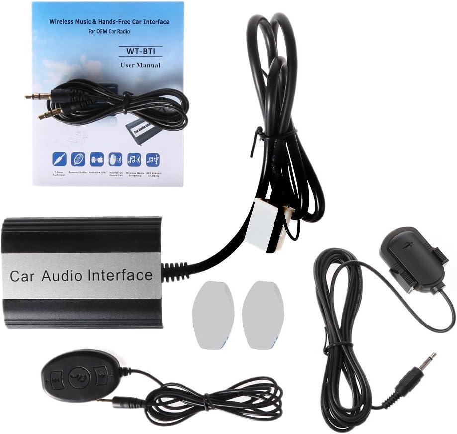 Runrain Car USB Aux-in CD Adapter MP3 Player Radio Interface 12 ...