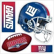 NFL New York Giants 4-Piece 3D Multi-Magnets