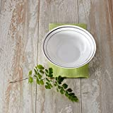 WNA Masterpiece 15 Count Plastic Bowls, 10 oz, White