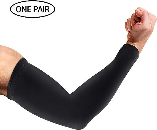 Men Anti-UV Sun Cooling Leg Sleeves Arm Sleeve Cover Basketball Sport Protection