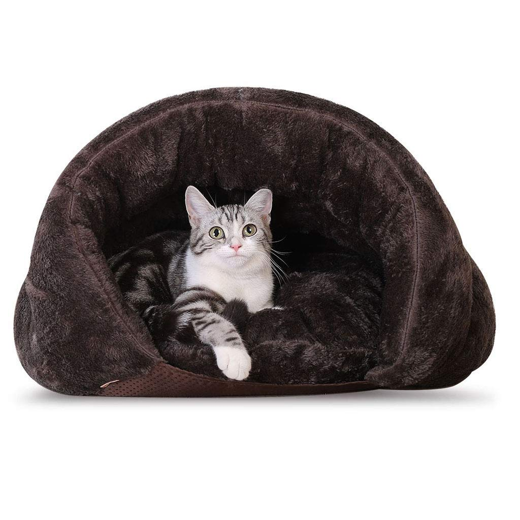 50cm Desti Flakes Dog Bed cat mat Cat Litter Closed Sleeping Bag Soft Warm Four Seasons Universal Pet Supplies Four Seasons Universal Washable (Size   50cm)