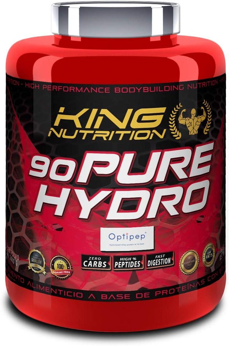 90 PURE HYDRO 2Kg Vainilla KING NUTRITION Proteina ...
